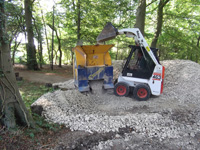 Chinnor Hill - Concrete Crushing
